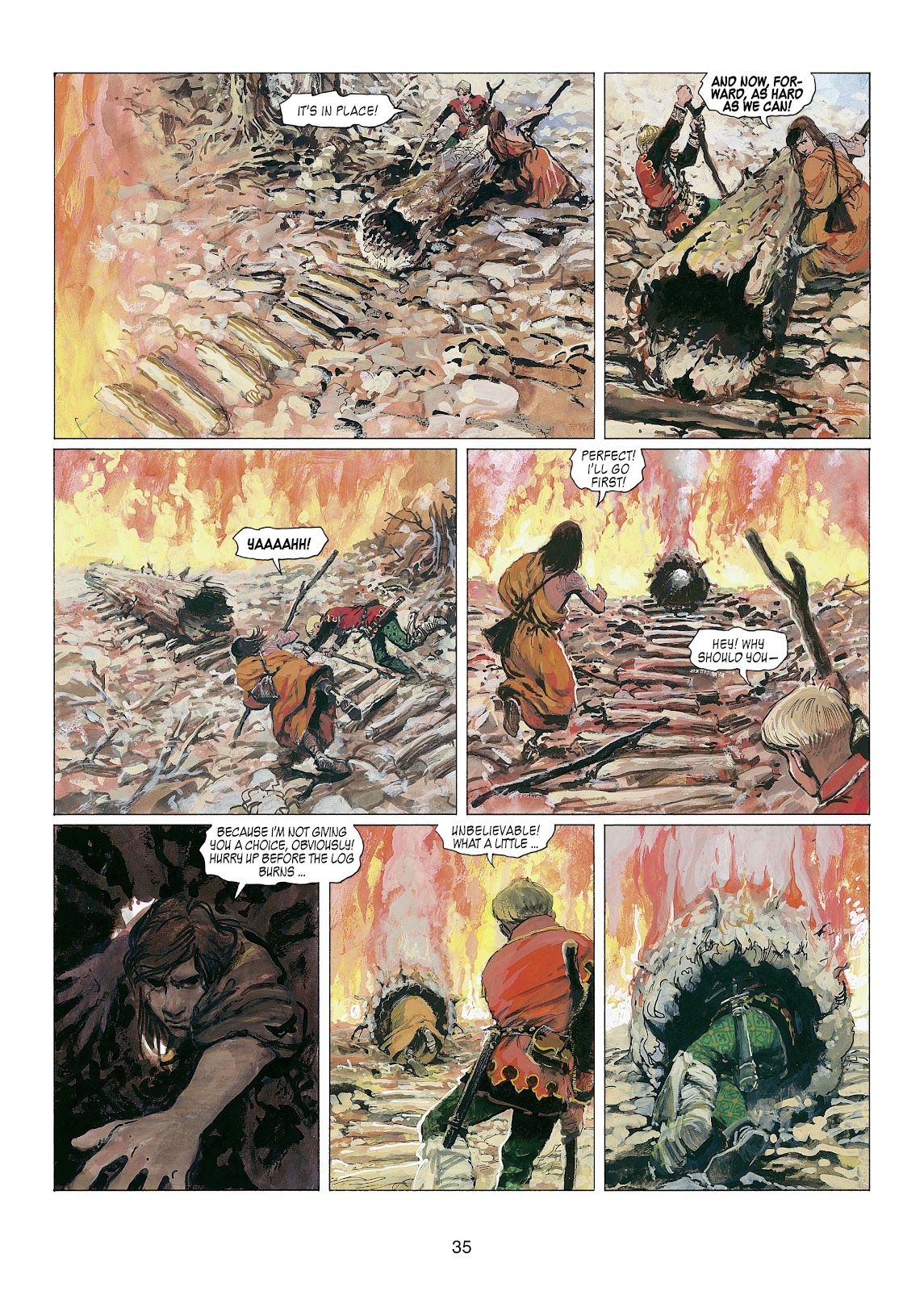 Read online Thorgal comic -  Issue #22 - 37