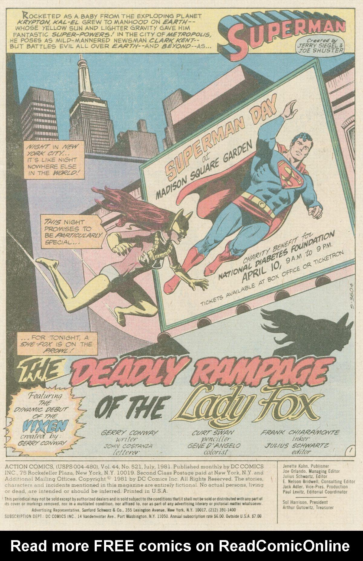 Action Comics (1938) 521 Page 1