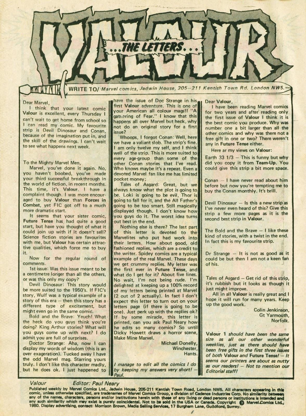 Valour 11 Page 2