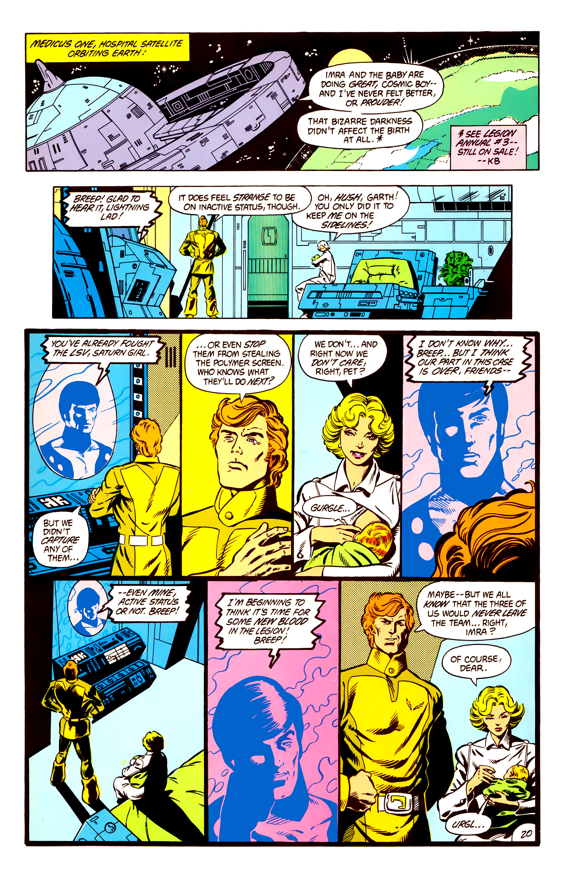 Legion of Super-Heroes (1984) 3 Page 21