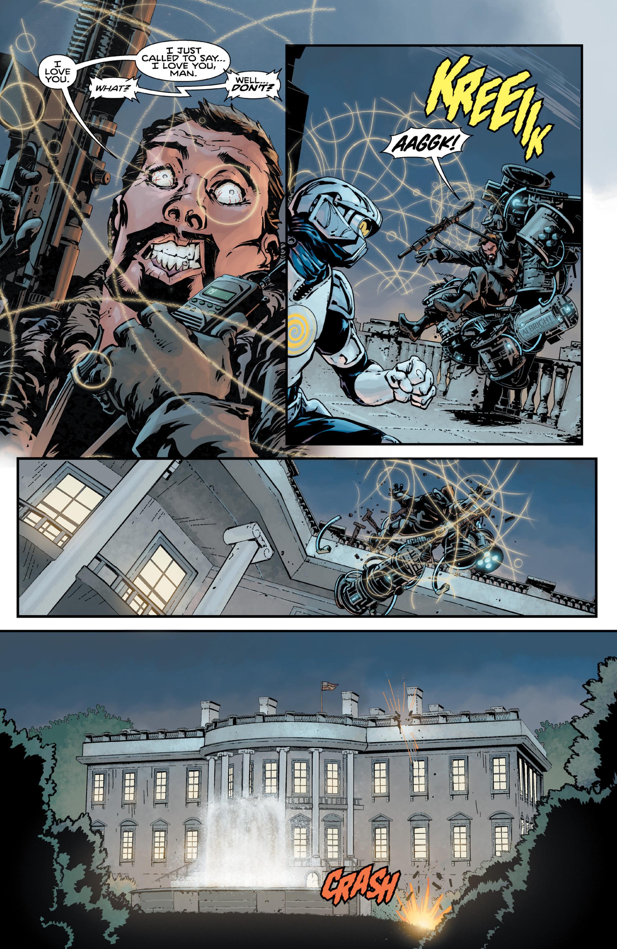 Read online Brain Boy:  The Men from G.E.S.T.A.L.T. comic -  Issue # TPB - 11