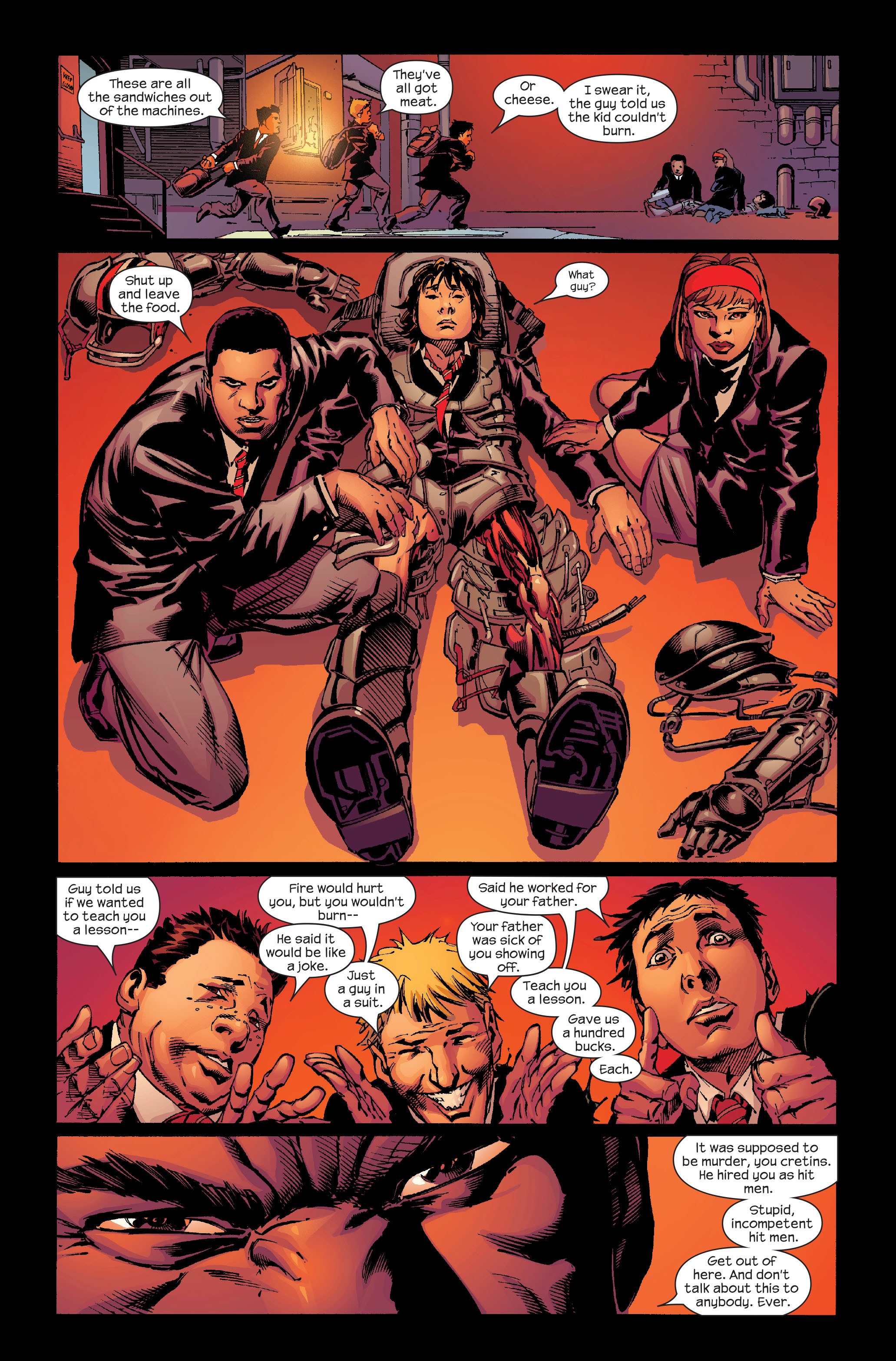 Read online Ultimate Iron Man (2005) comic -  Issue #4 - 10