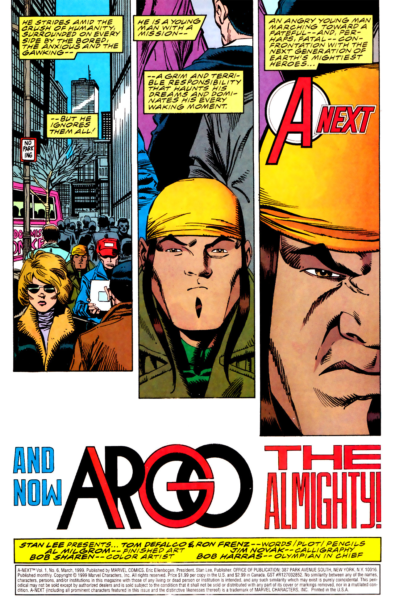 Read online A-Next comic -  Issue #6 - 2