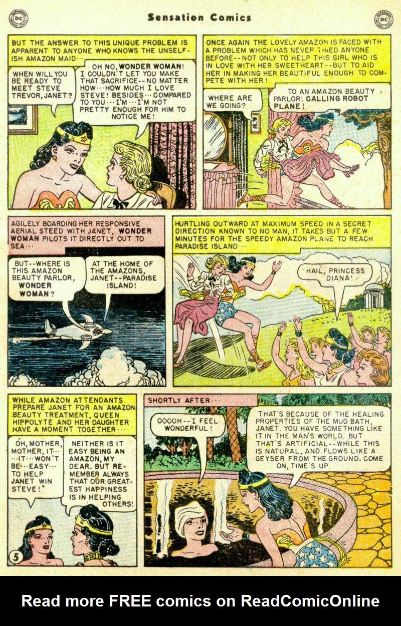 Read online Sensation (Mystery) Comics comic -  Issue #98 - 7