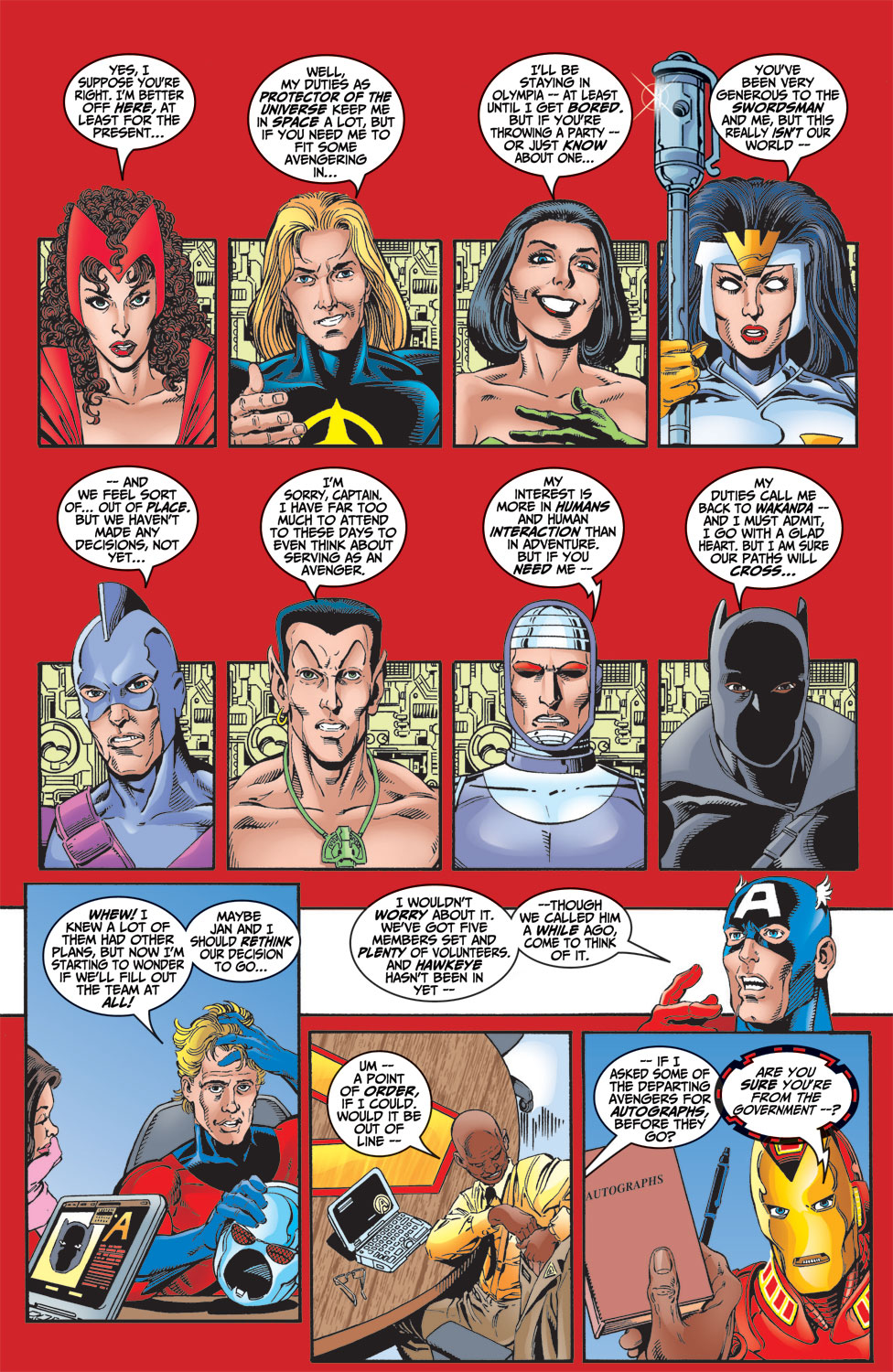 Read online Avengers (1998) comic -  Issue #4 - 14