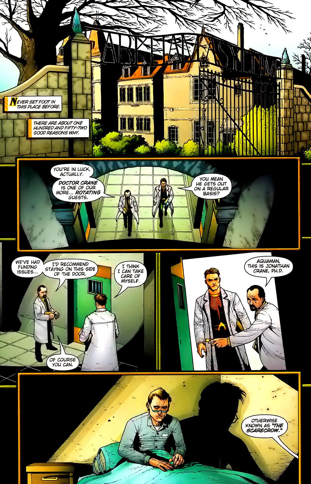 Read online Aquaman (2003) comic -  Issue #30 - 21