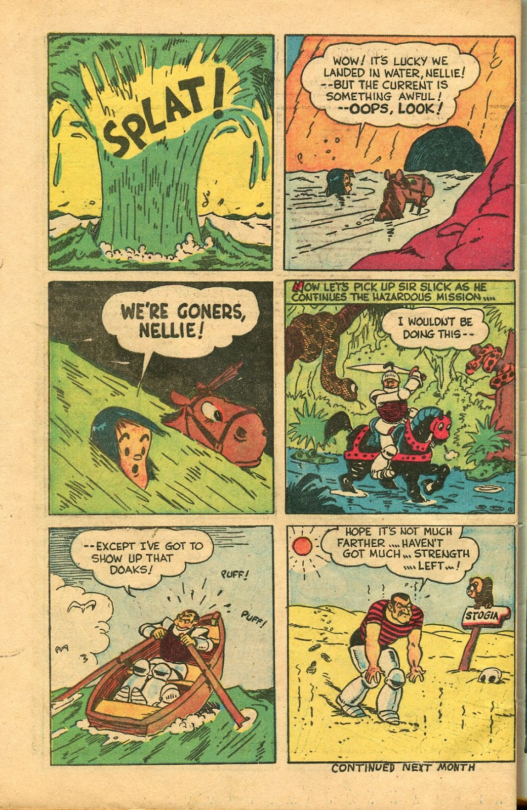 Read online Famous Funnies comic -  Issue #147 - 48