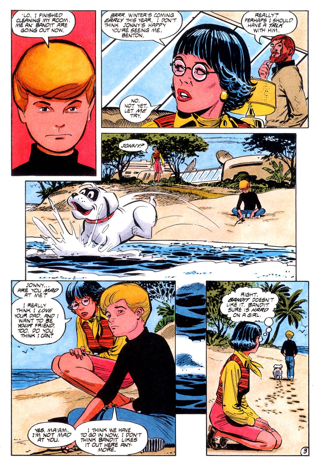 Jonny Quest (1986) issue 12 - Page 6