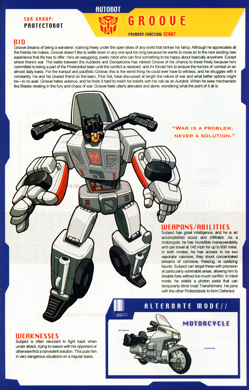 Read online Transformers: More than Meets the Eye comic -  Issue #5 - 5