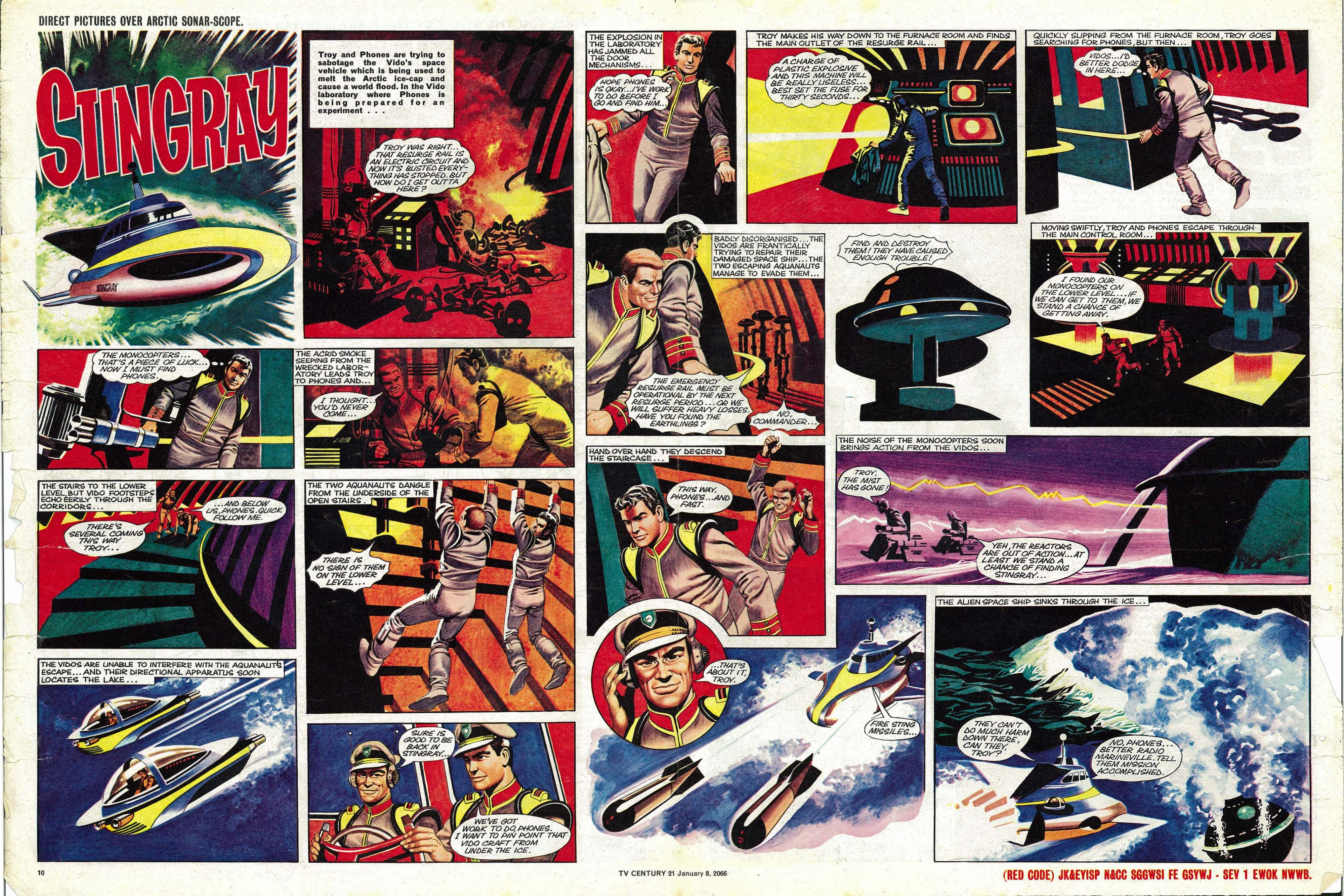 Read online TV Century 21 (TV 21) comic -  Issue #51 - 10