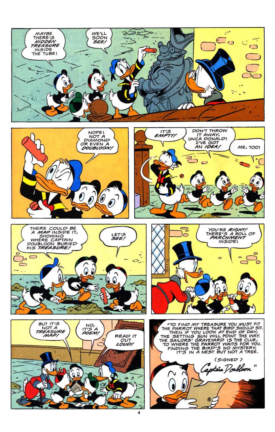Read online Uncle Scrooge (1953) comic -  Issue #248 - 5