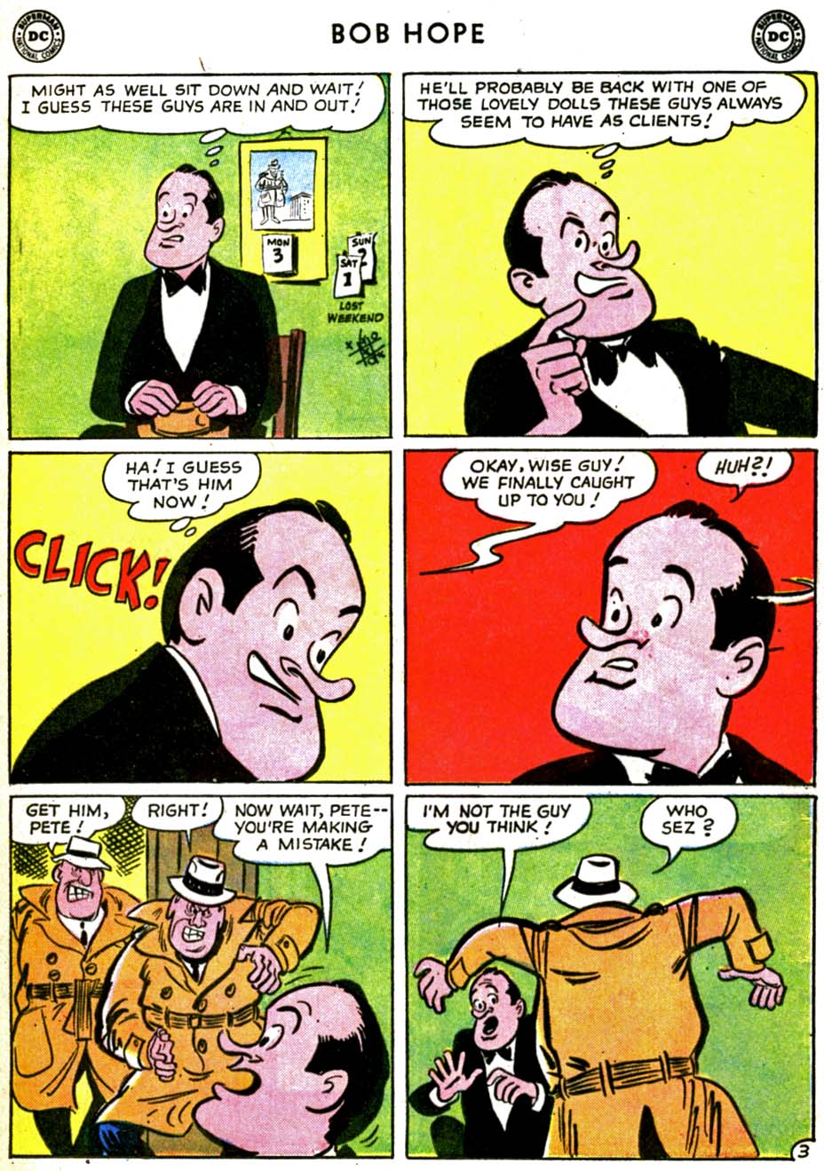The Adventures of Bob Hope issue 69 - Page 5