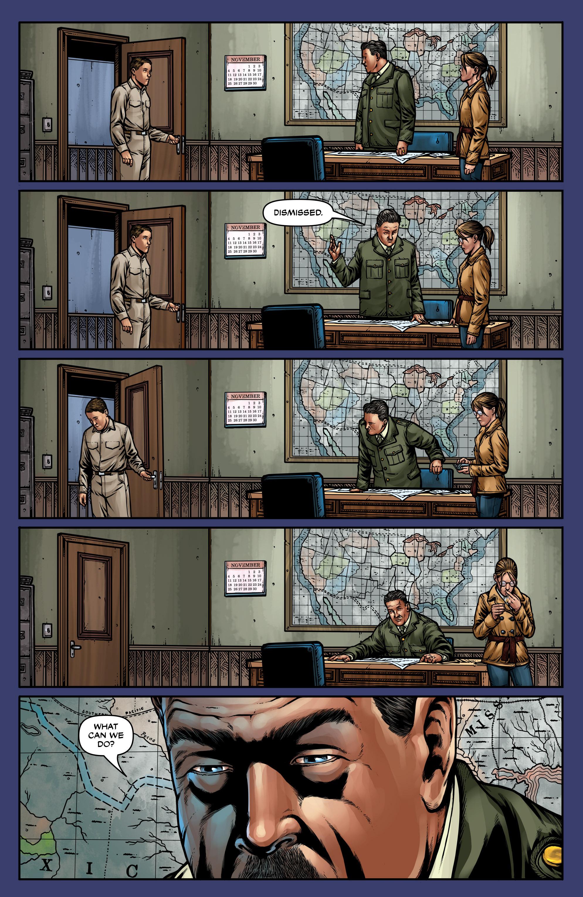 Read online Uber: Invasion comic -  Issue #5 - 21