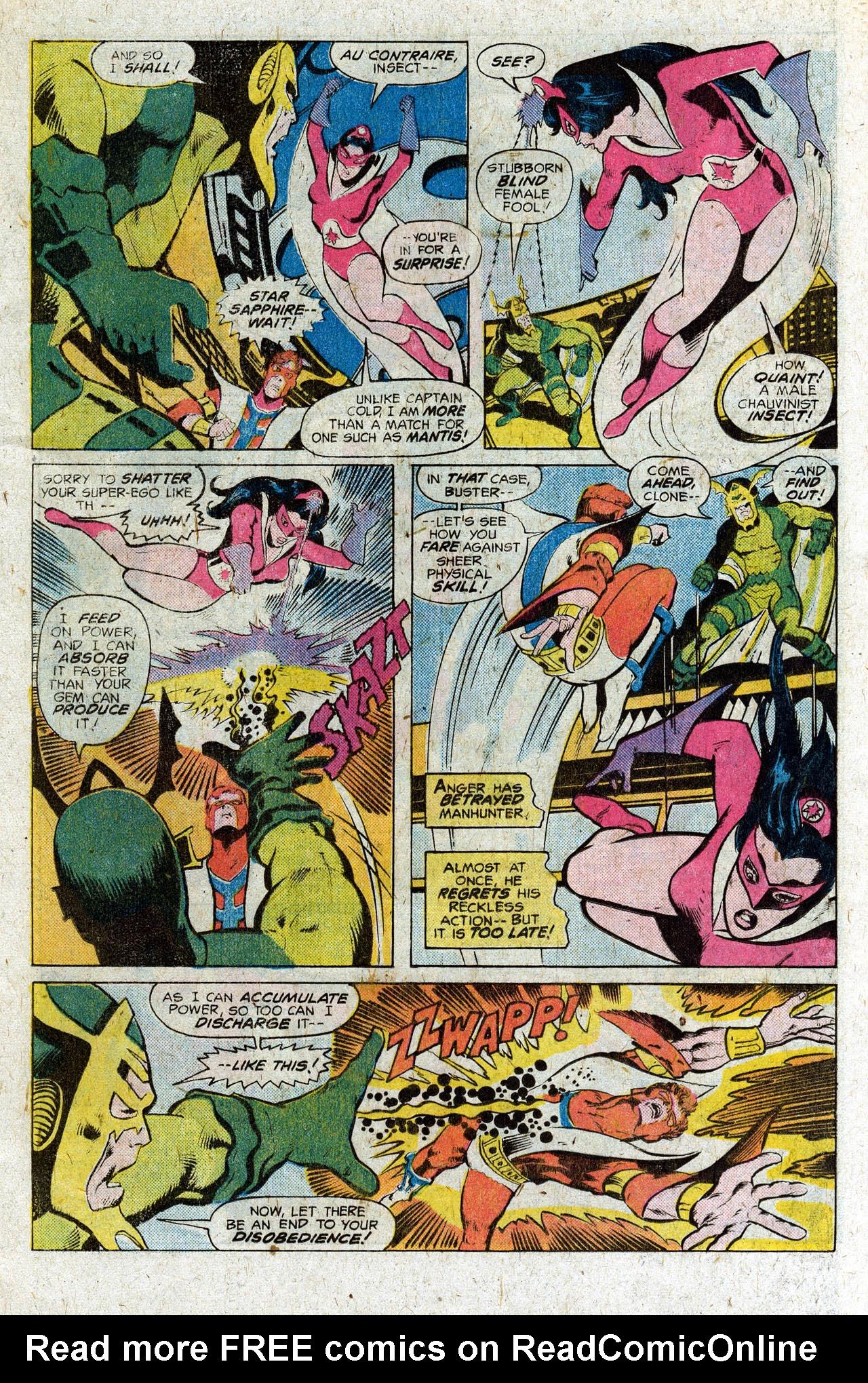 Read online Secret Society of Super-Villains comic -  Issue #3 - 8