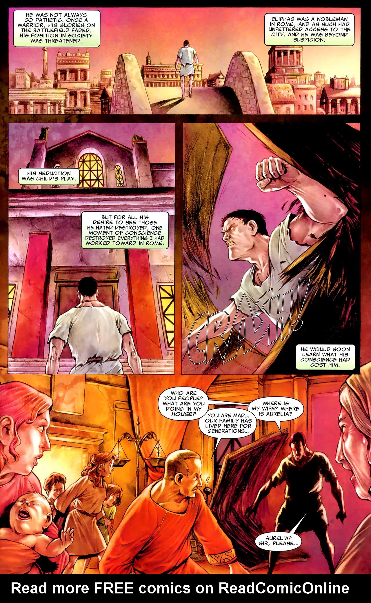 Read online X Necrosha: The Gathering comic -  Issue # Full - 36