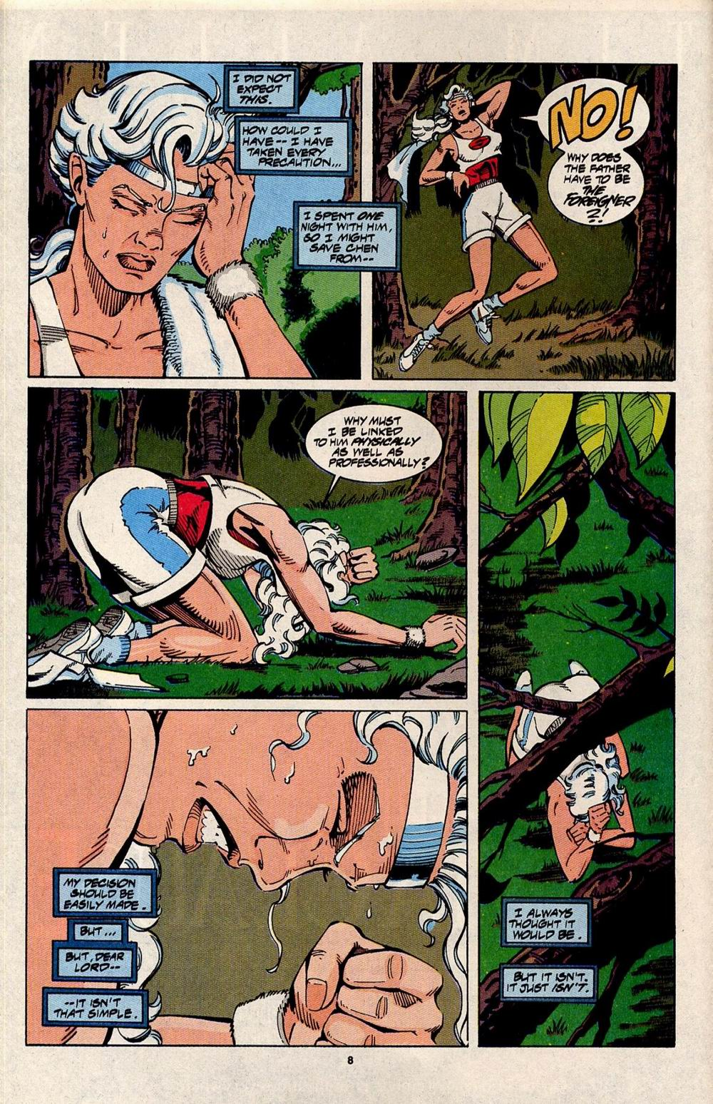 Read online Silver Sable and the Wild Pack comic -  Issue #31 - 7
