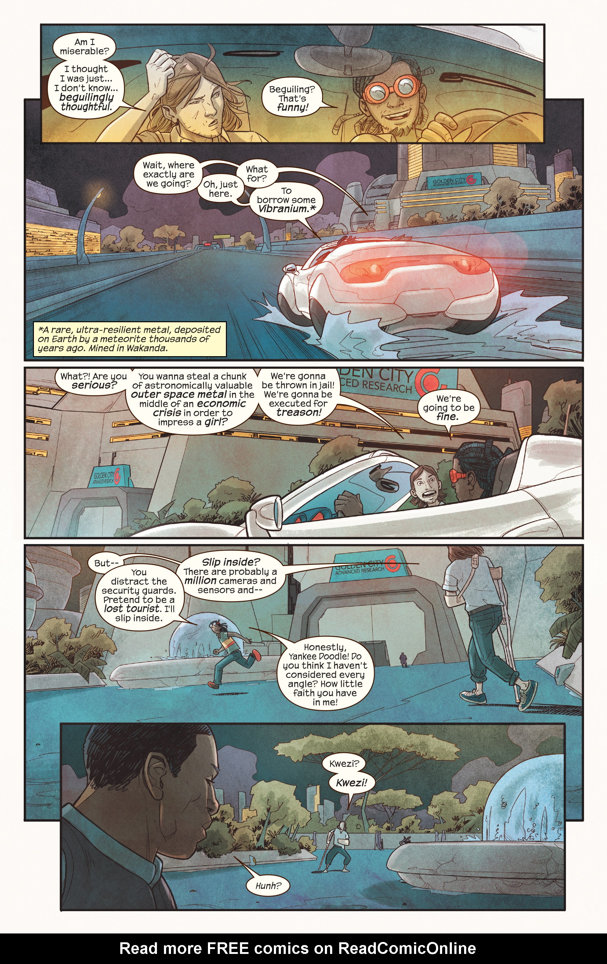 Read online Ms. Marvel (2016) comic -  Issue #18 - 8