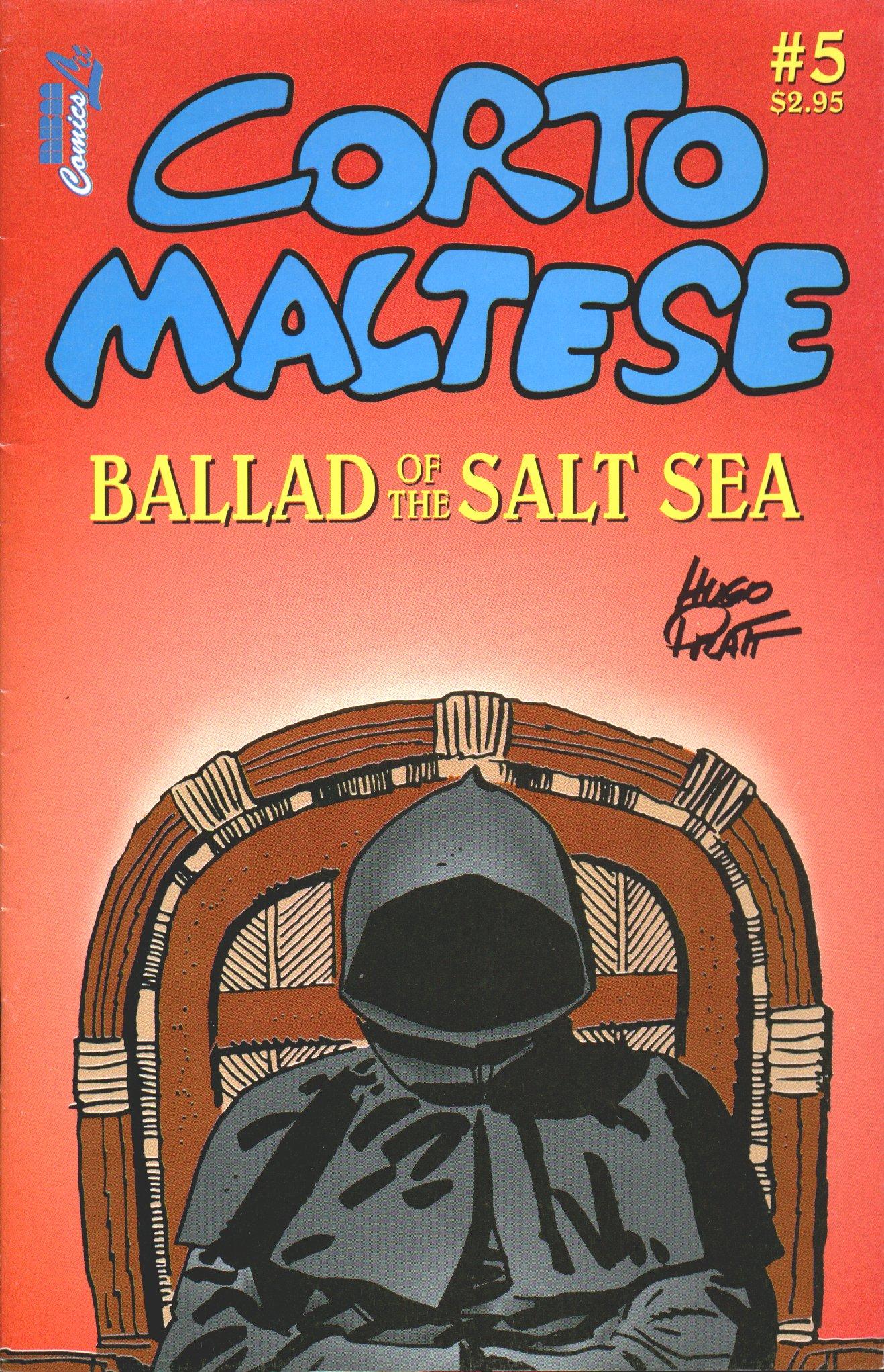 Read online Corto Maltese: Ballad of the Salt Sea comic -  Issue #5 - 1