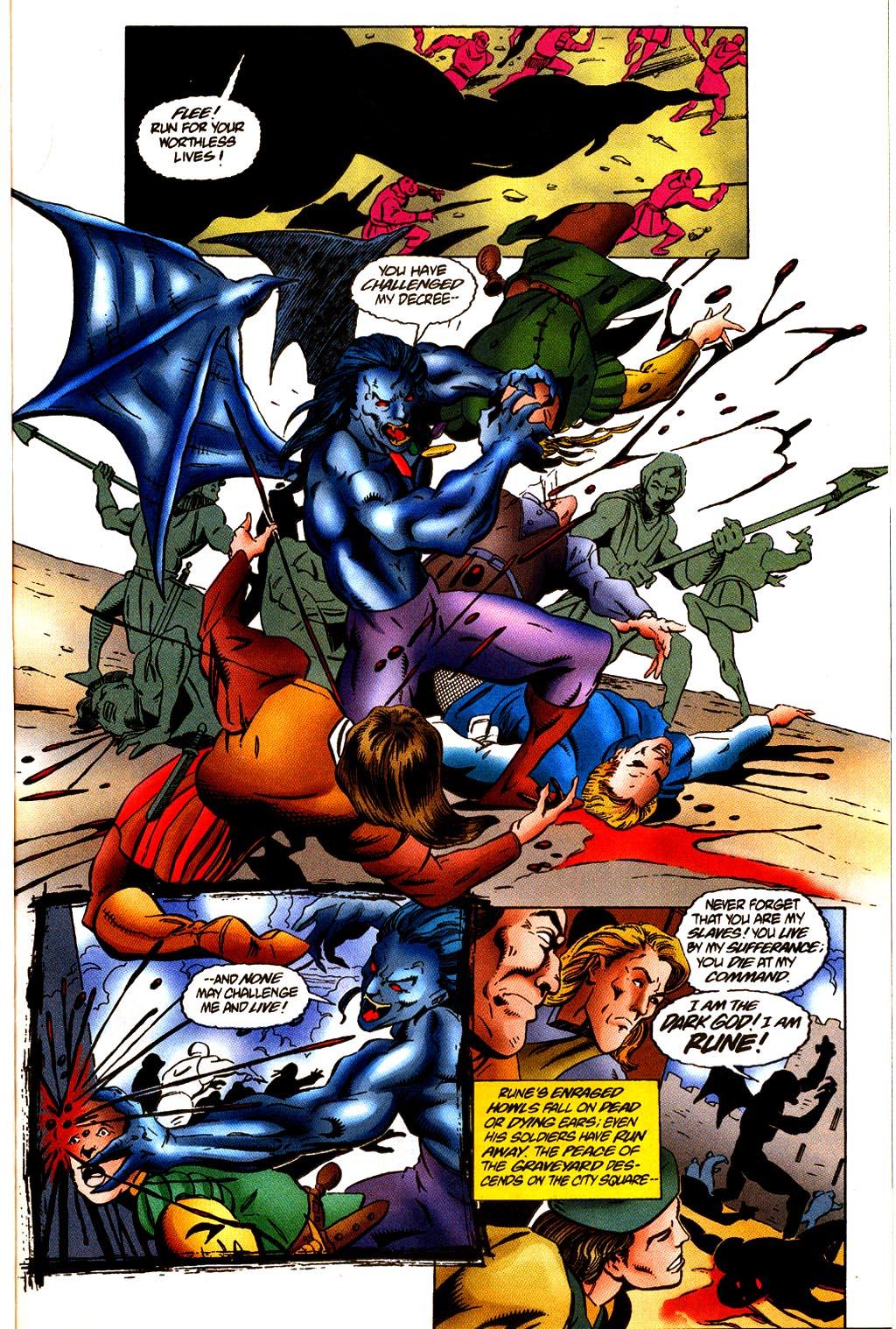 Read online Rune (1995) comic -  Issue #4 - 14