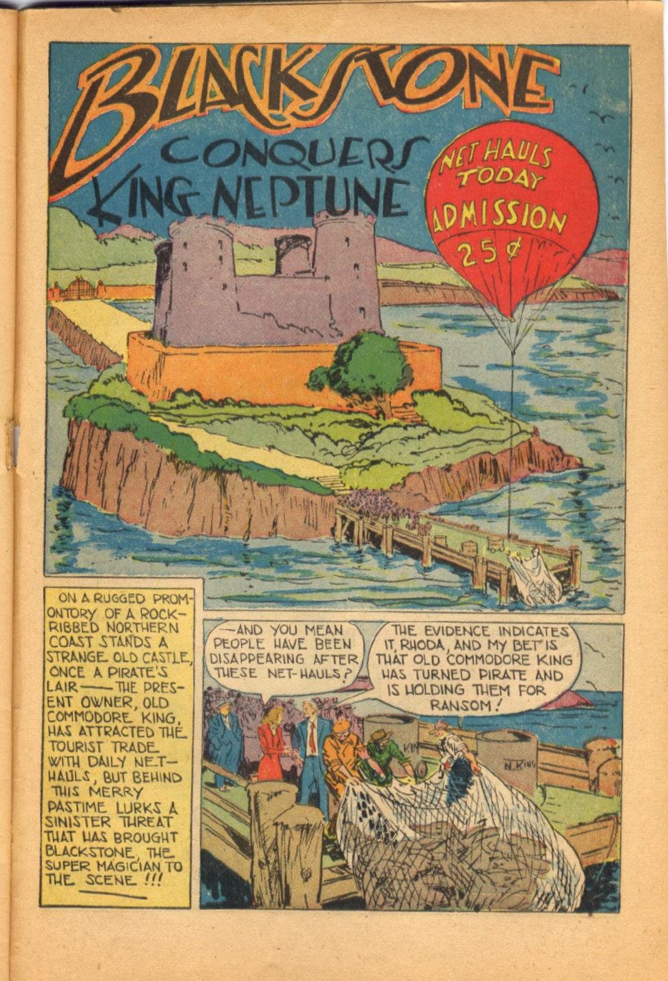 Read online Super-Magician Comics comic -  Issue #38 - 43