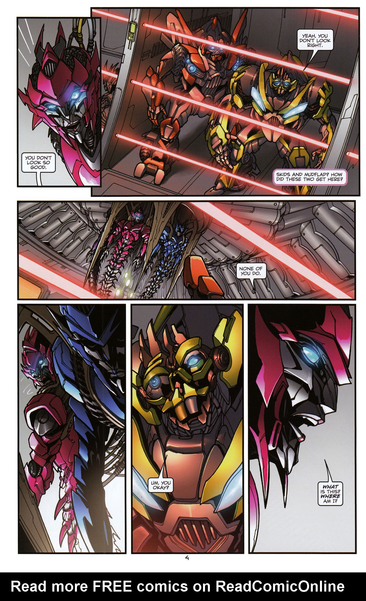 Read online Transformers: Tales of The Fallen comic -  Issue #6 - 6