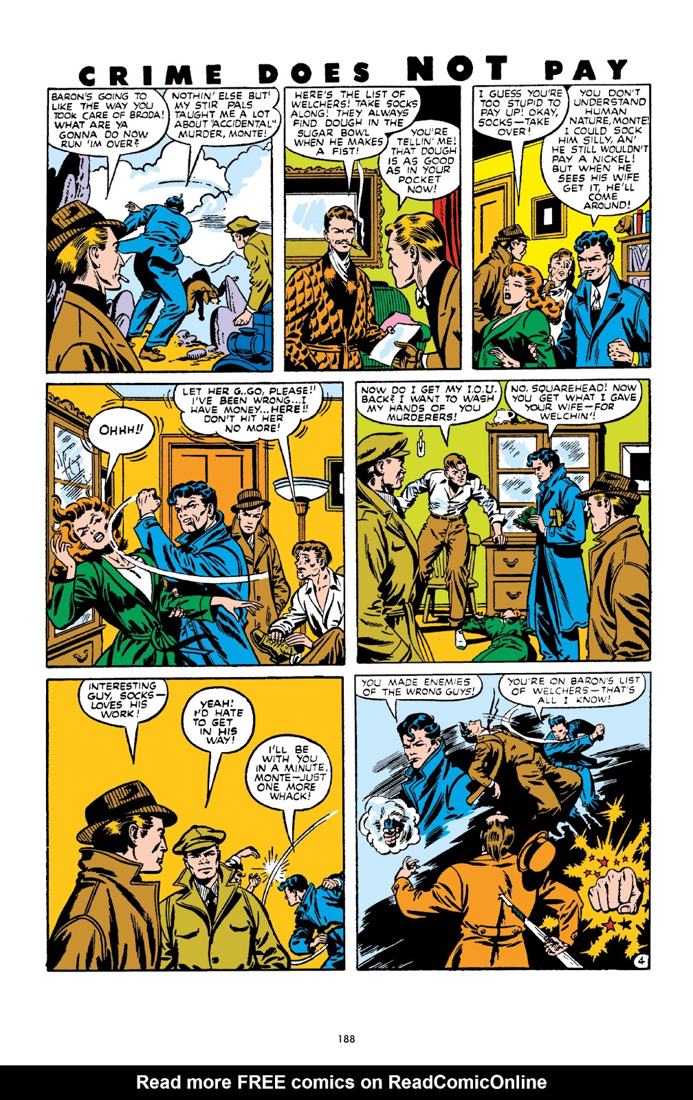 Read online Crime Does Not Pay Archives comic -  Issue # TPB 10 (Part 2) - 89