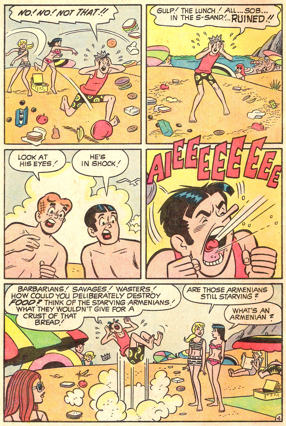 Read online Archie's Girls Betty and Veronica comic -  Issue #178 - 6