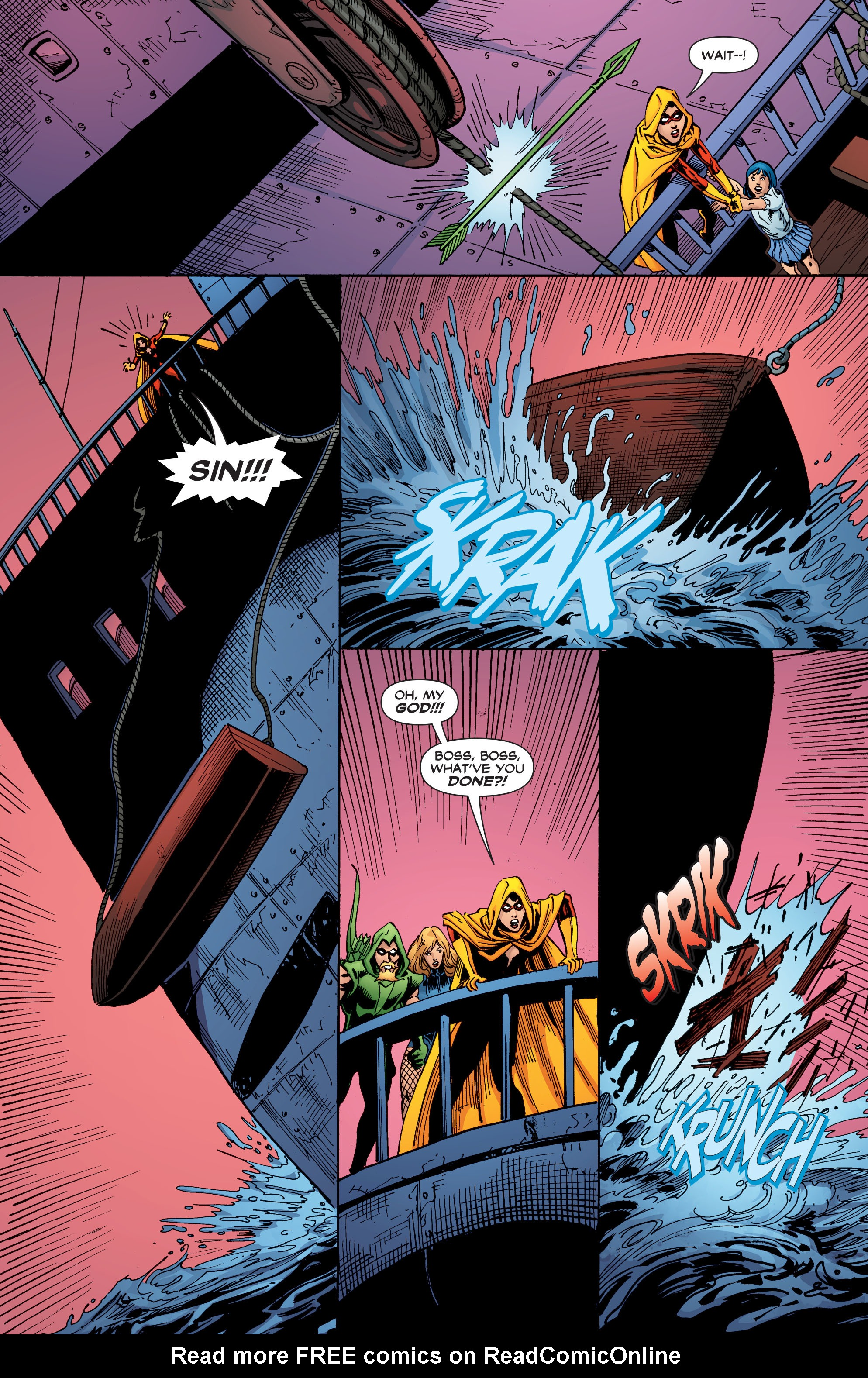Read online Black Canary (2007) comic -  Issue #3 - 23