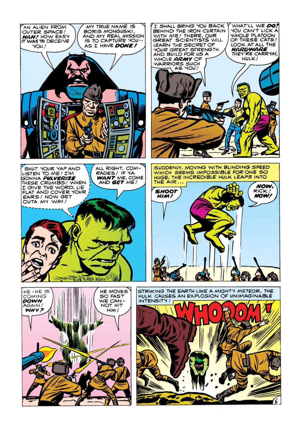Read online Marvel Masterworks: The Incredible Hulk comic -  Issue # TPB 1 (Part 1) - 98