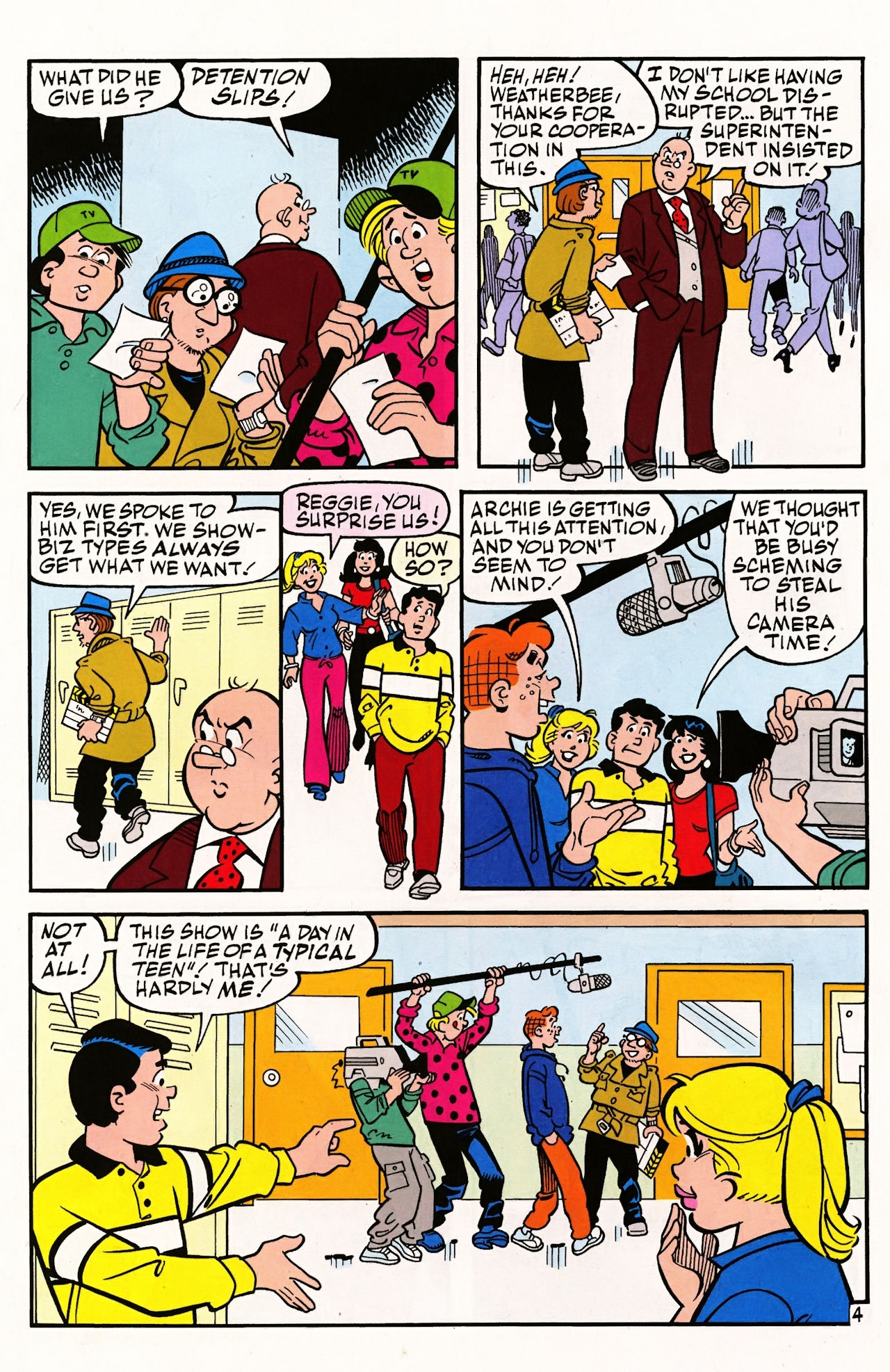 Read online Archie (1960) comic -  Issue #597 - 6