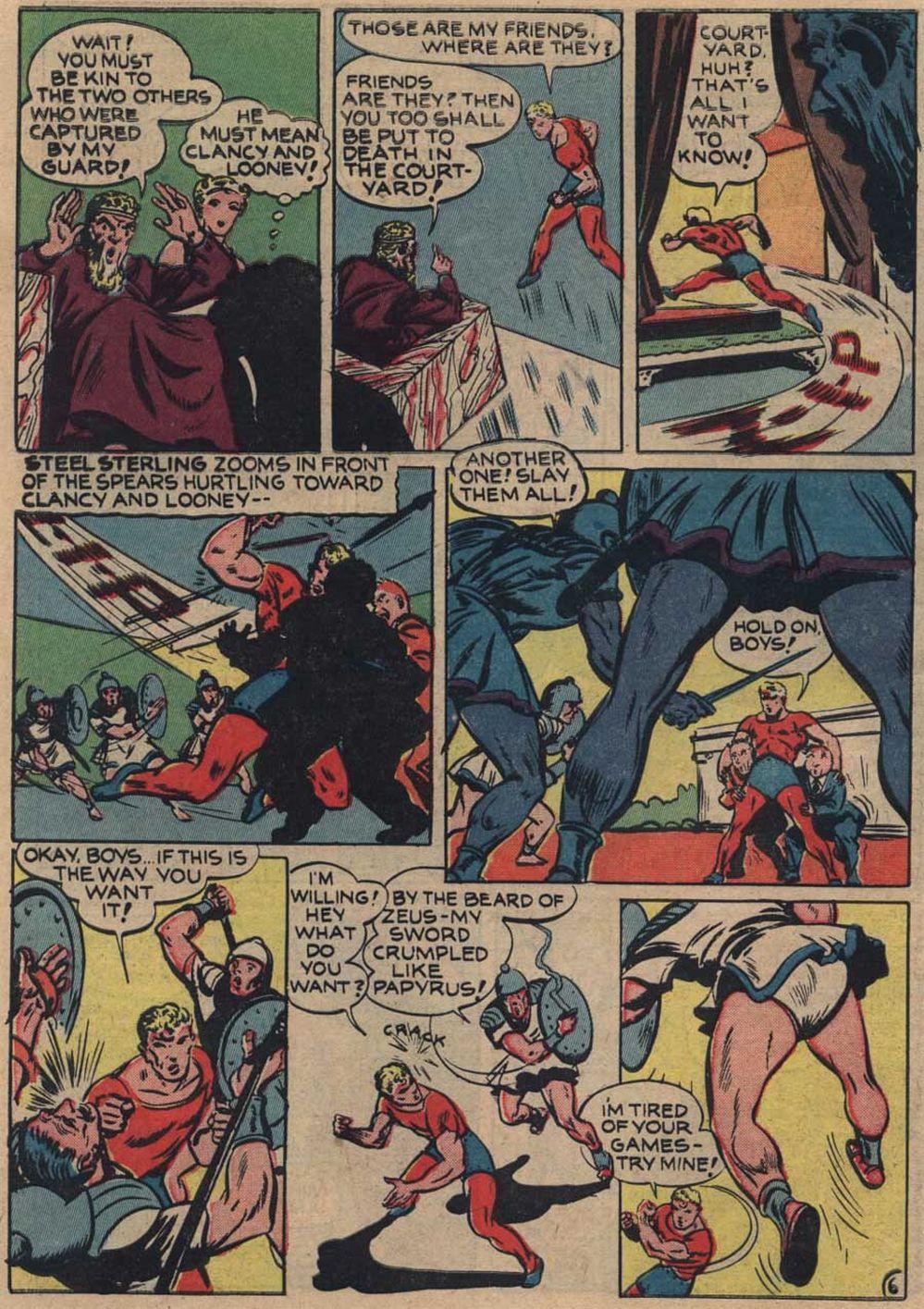 Zip Comics 25 Page 9