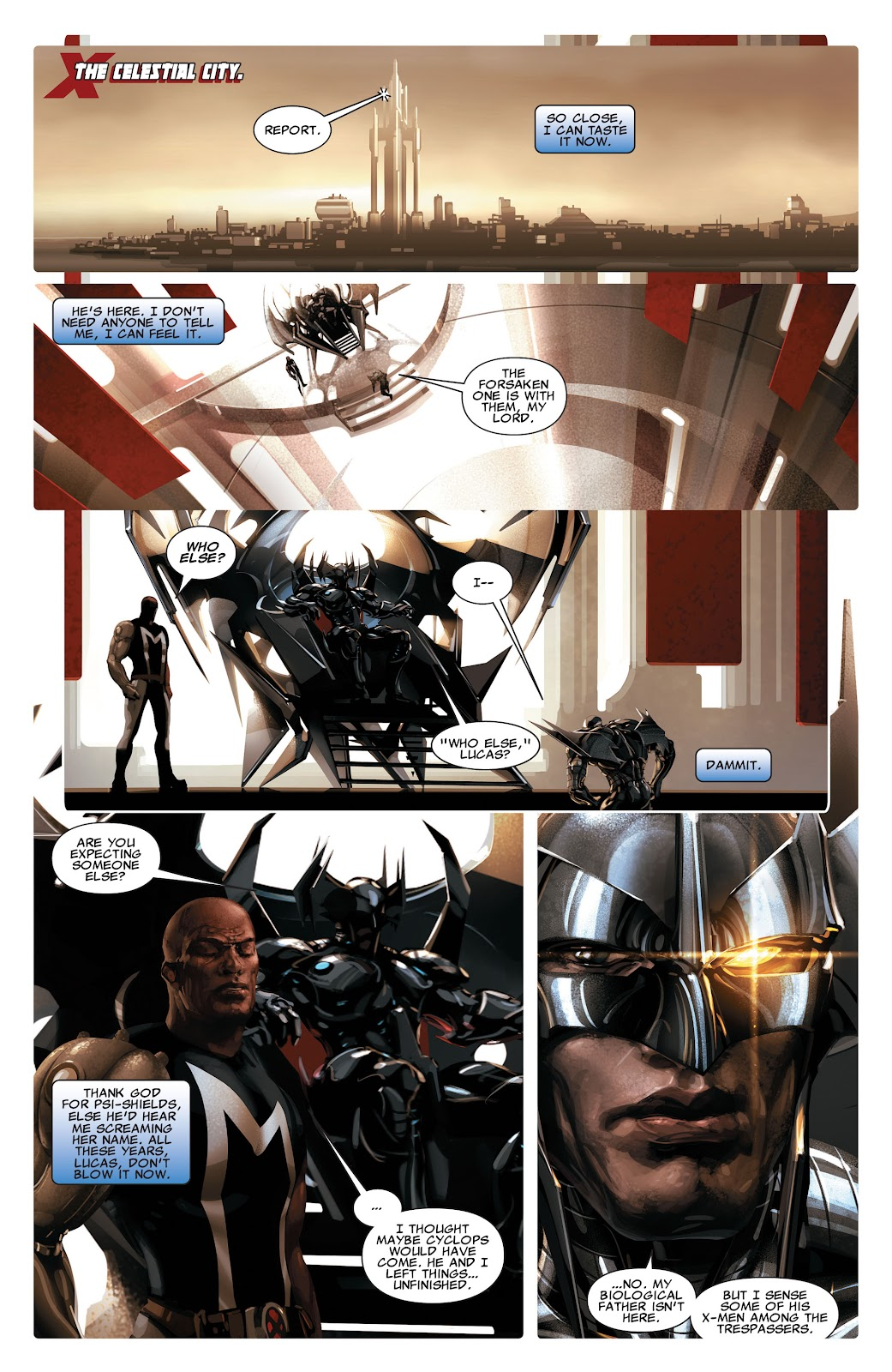 Read online X-Force/Cable: Messiah War comic -  Issue # _TPB (Part 2) - 22
