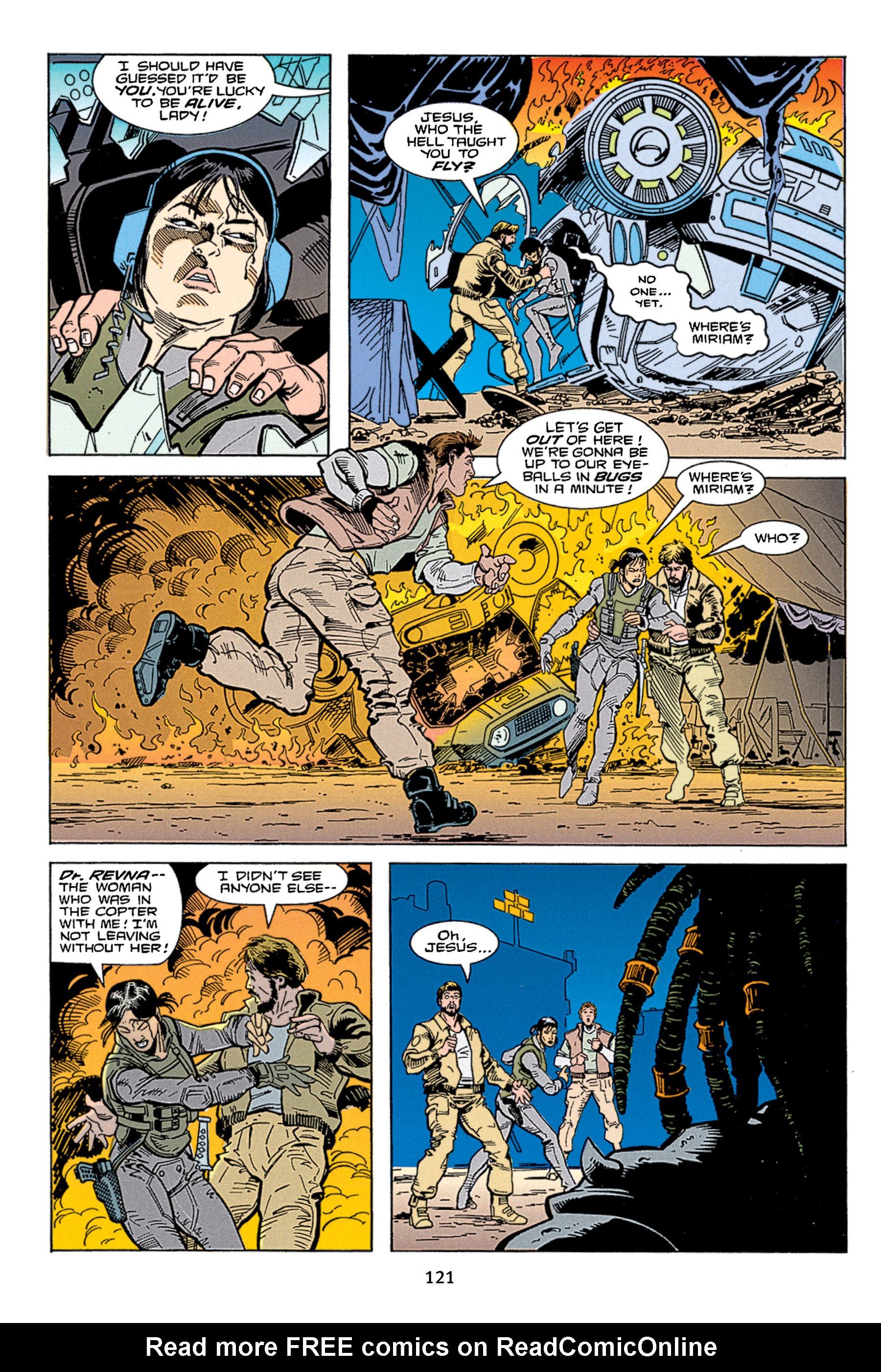 Read online Aliens vs. Predator Omnibus comic -  Issue # _TPB 1 Part 2 - 20
