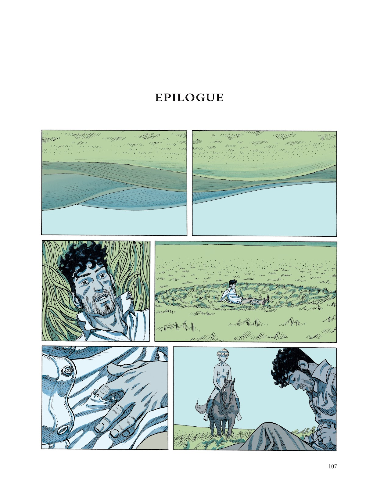Read online The Smell of Starving Boys comic -  Issue # TPB - 107