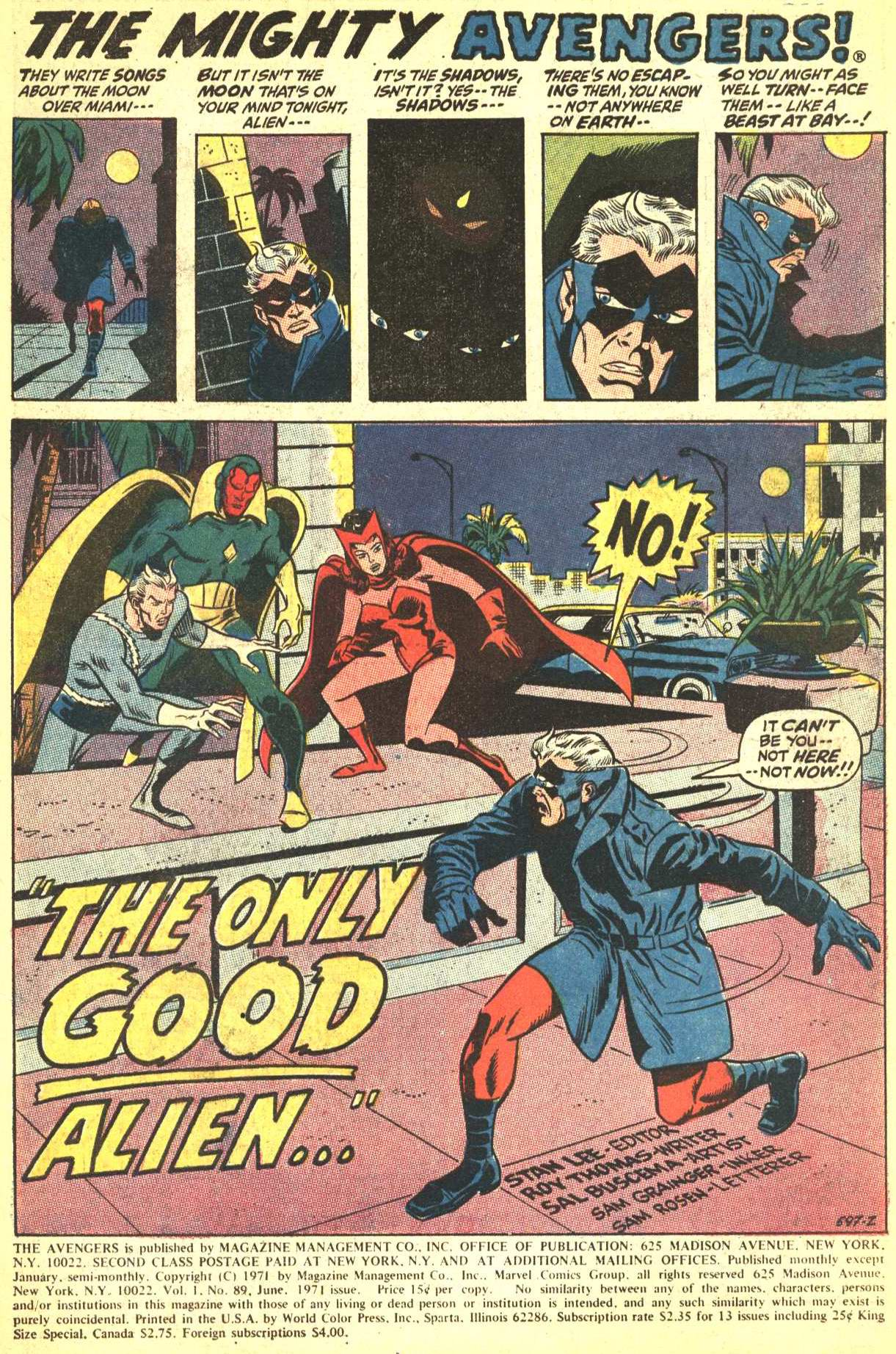 The Avengers (1963) 89 Page 1