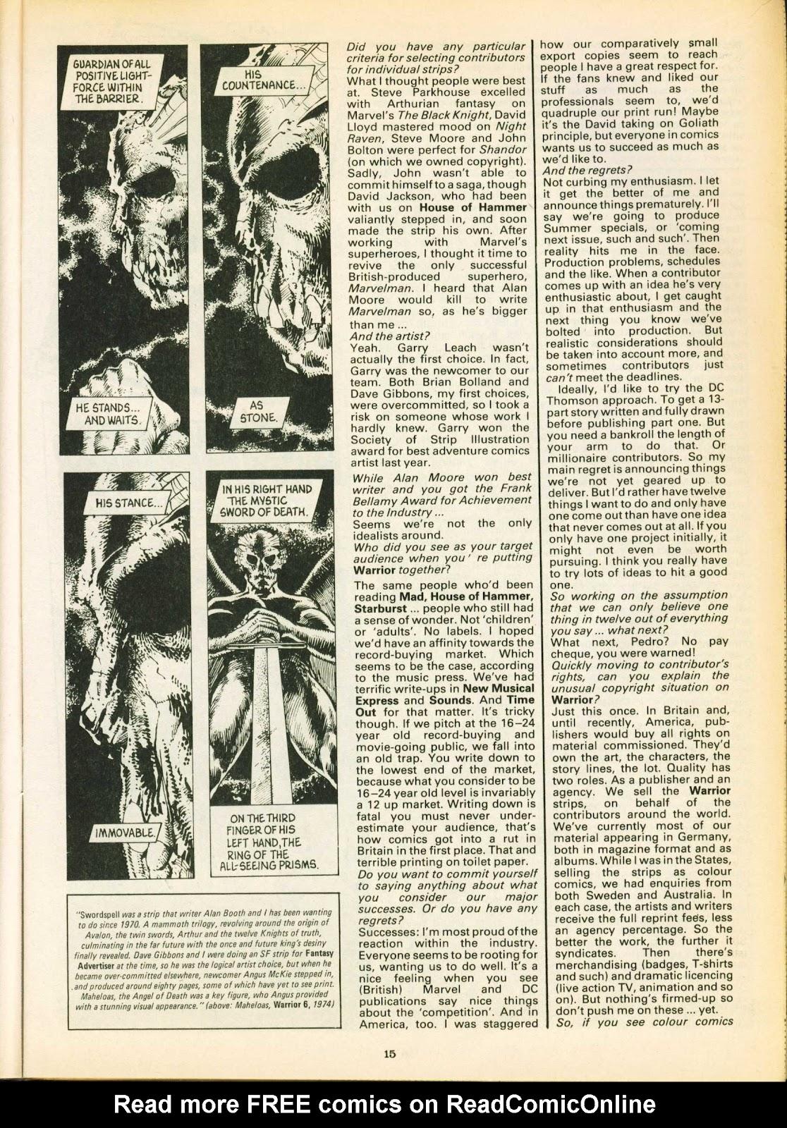 Warrior Issue #16 #17 - English 15