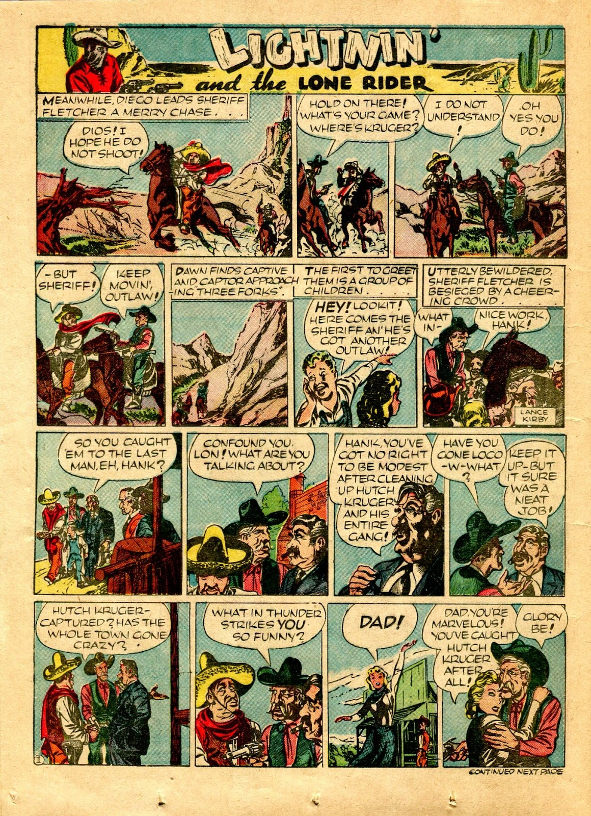 Read online Famous Funnies comic -  Issue #64 - 22