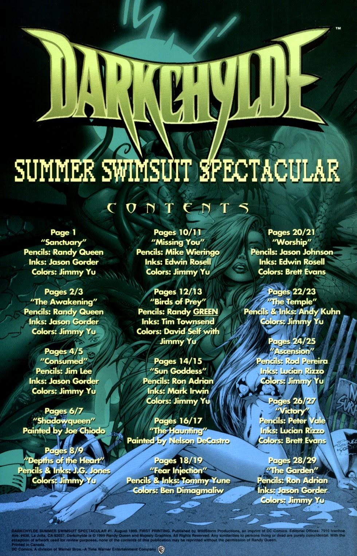 Read online Darkchylde Summer Swimsuit Spectacular comic -  Issue # Full - 2