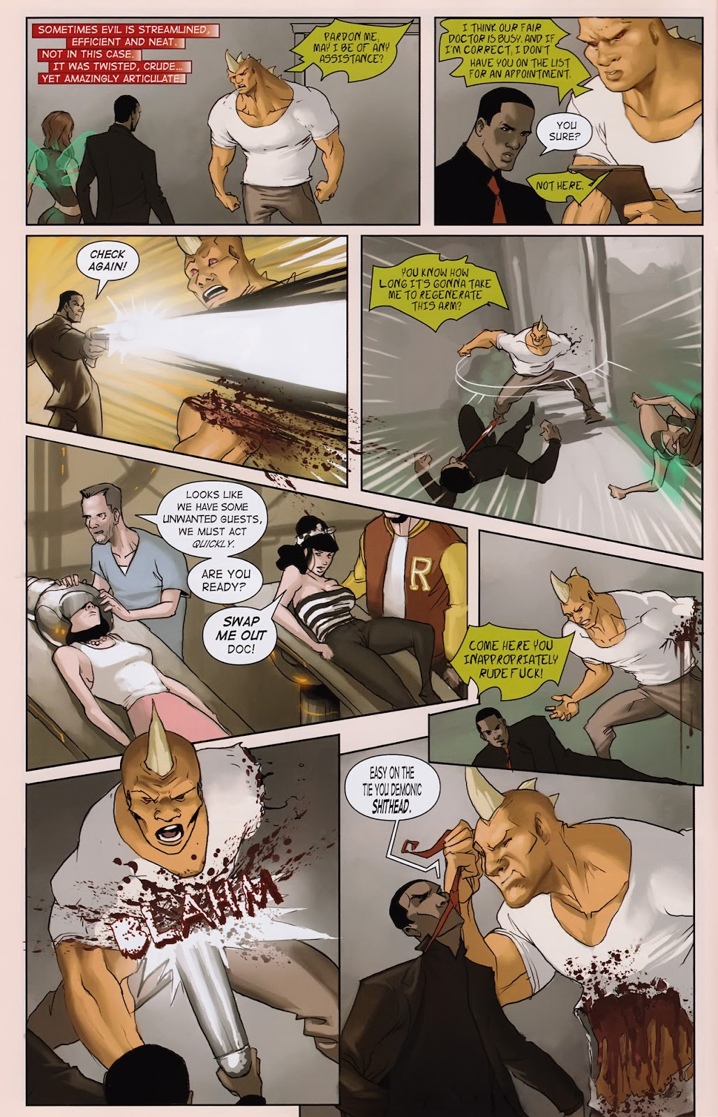 Read online Vescell comic -  Issue #2 - 10