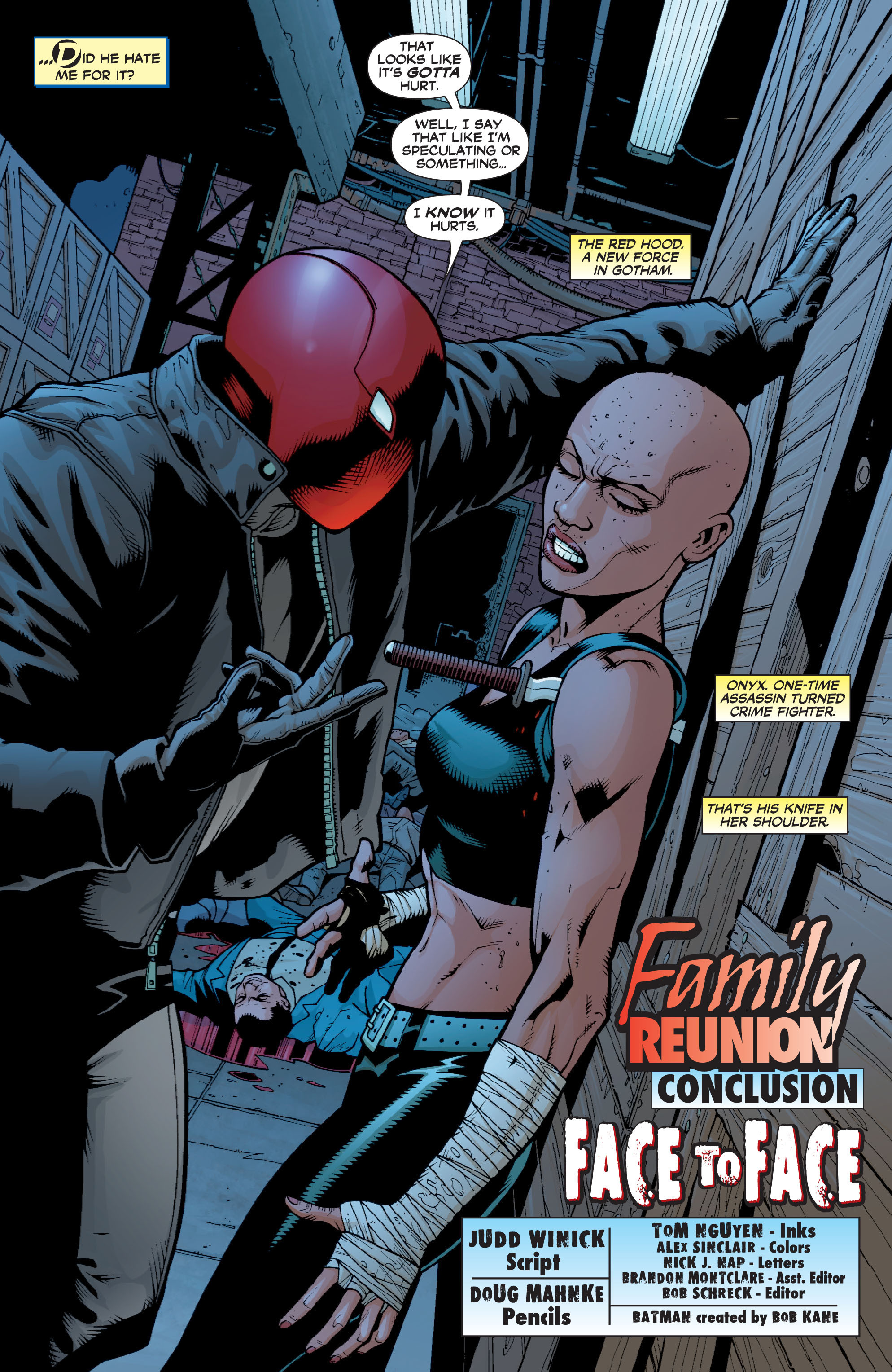Read online Batman: Under The Red Hood comic -  Issue # Full - 153