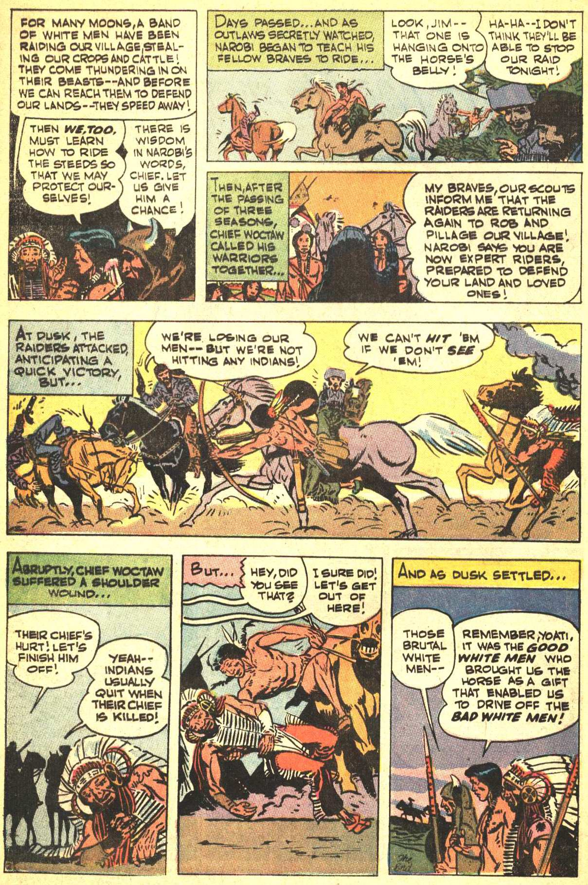 Read online All-Star Western (1970) comic -  Issue #4 - 28