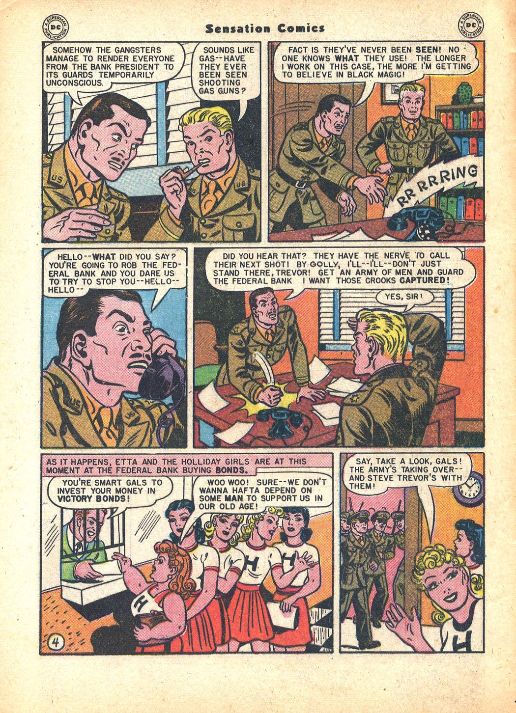 Read online Sensation (Mystery) Comics comic -  Issue #63 - 6