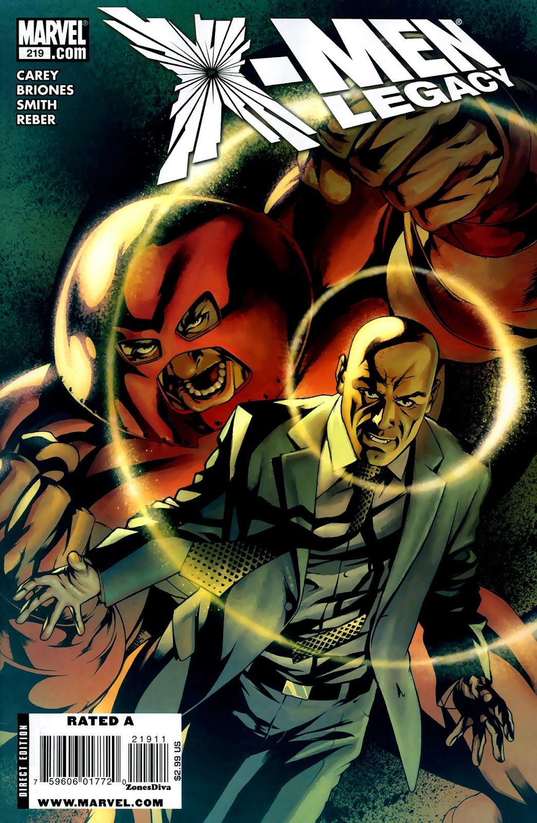 X-Men Legacy (2008) 219 Page 1