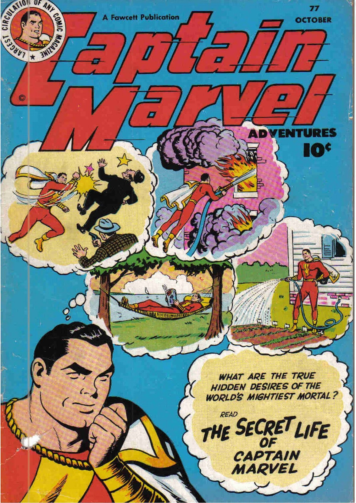 Captain Marvel Adventures 77 Page 1