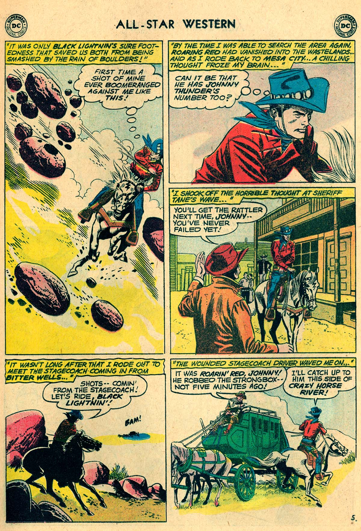 Read online All-Star Western (1951) comic -  Issue #115 - 7