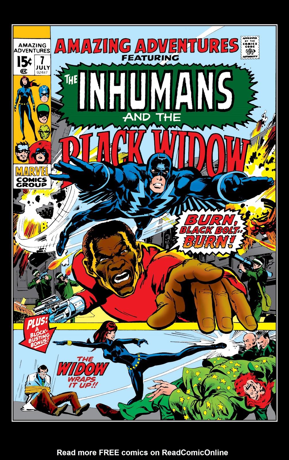 Read online Marvel Masterworks: The Inhumans comic -  Issue # TPB 1 (Part 2) - 35