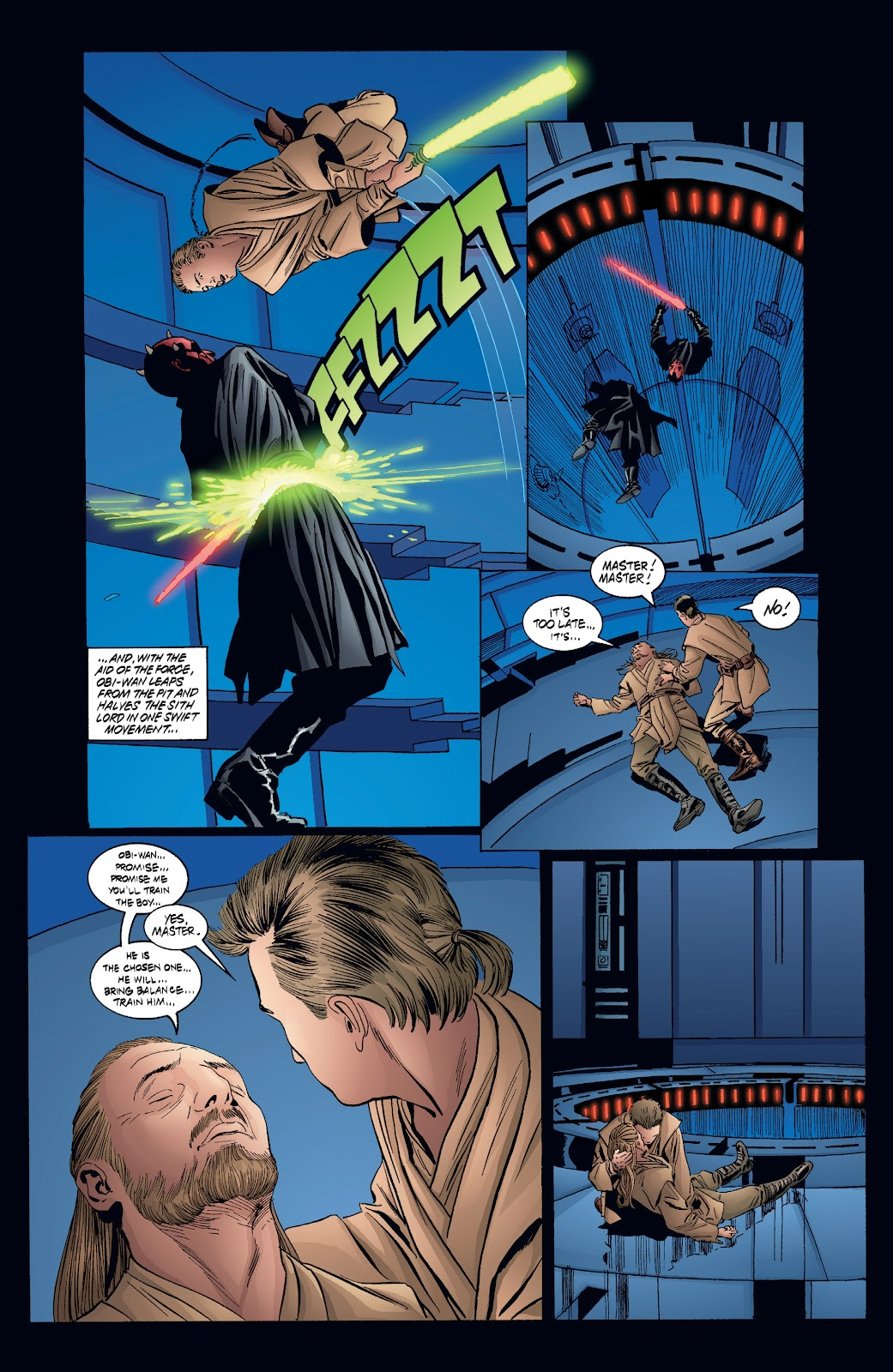 Read online Star Wars Legends: Rise of the Sith - Epic Collection comic -  Issue # TPB 2 (Part 4) - 35