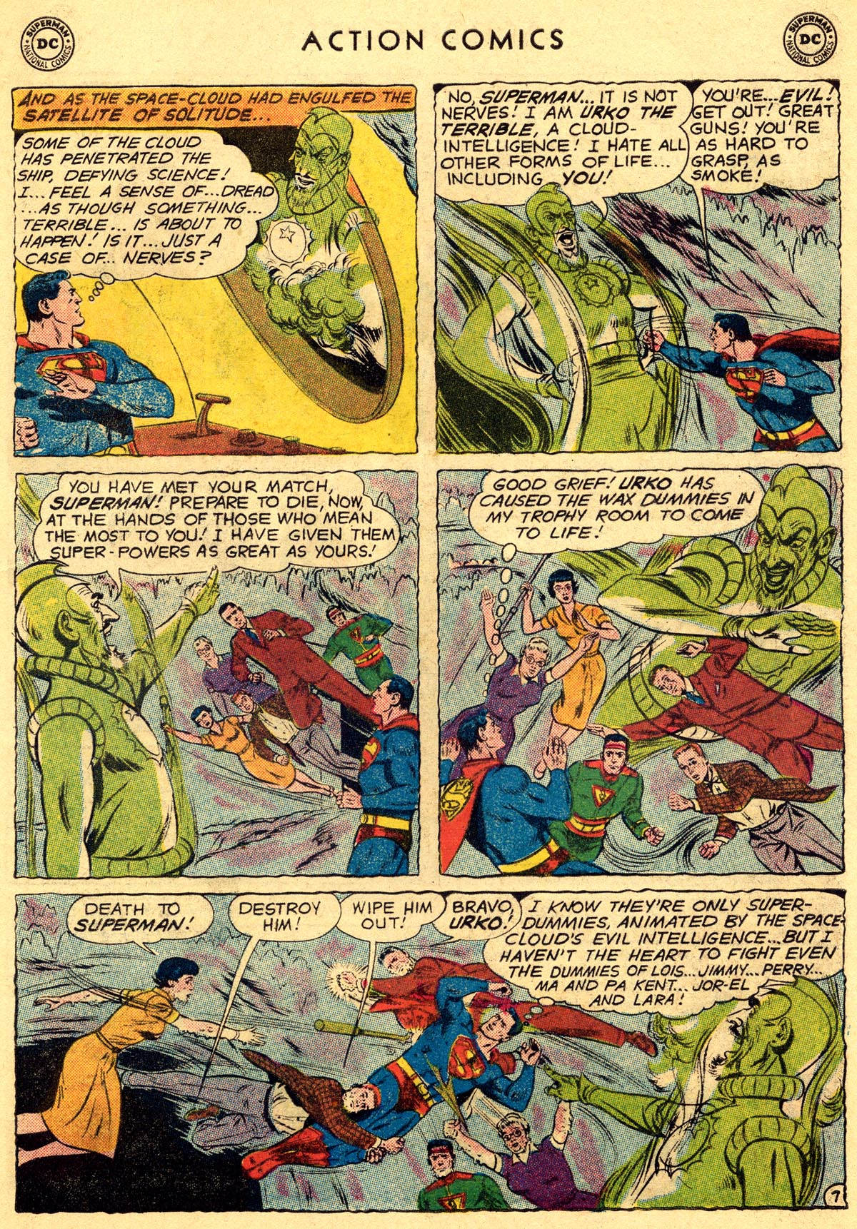 Read online Action Comics (1938) comic -  Issue #261 - 9