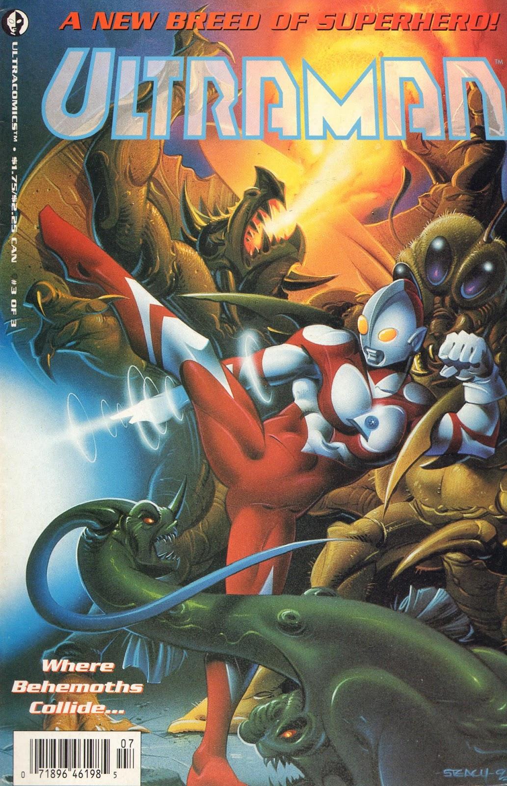 Ultraman (1993) 3 Page 1