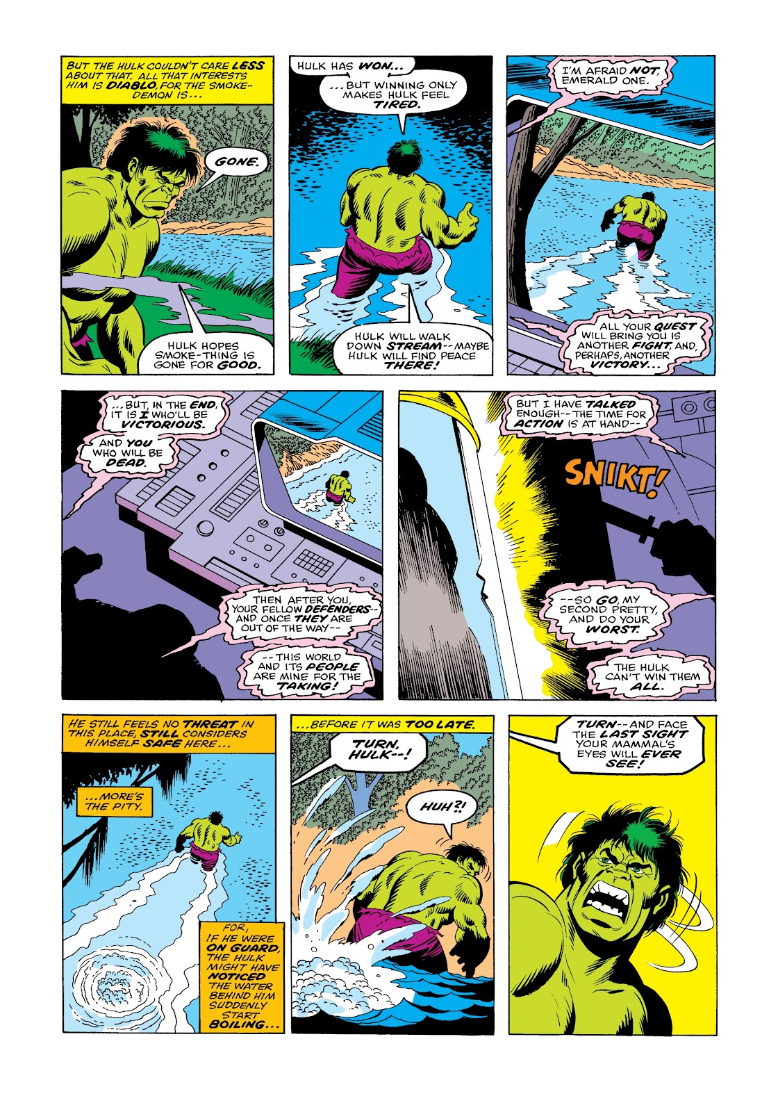 Read online Marvel Masterworks: The Incredible Hulk comic -  Issue # TPB 12 (Part 1) - 56